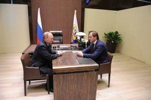 Lev Kuznetsov y Vladímir Putin. Fuente: Kremlin.ru
