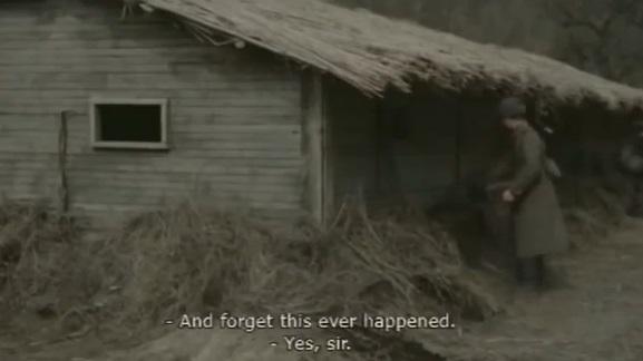 "Fotograma de la película ""Se ordena olvidar"" (""Ordered to forget"", ""Prikazano zabit"")"