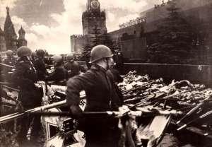 Celebración del Día de la Victoria, 1945, Moscú