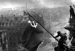 La Bandera de la Victoria sobre el Reichstag