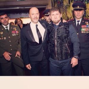 con fedor bondarchuk, actor