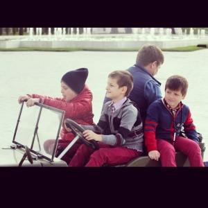 con los chicos