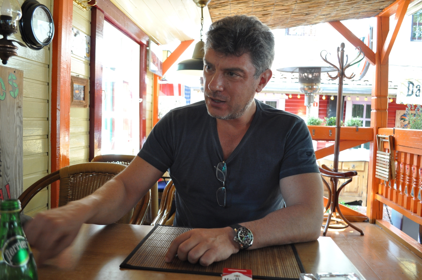 Borís Nemtsov. Fotografía de Ekaterina Zotkova.