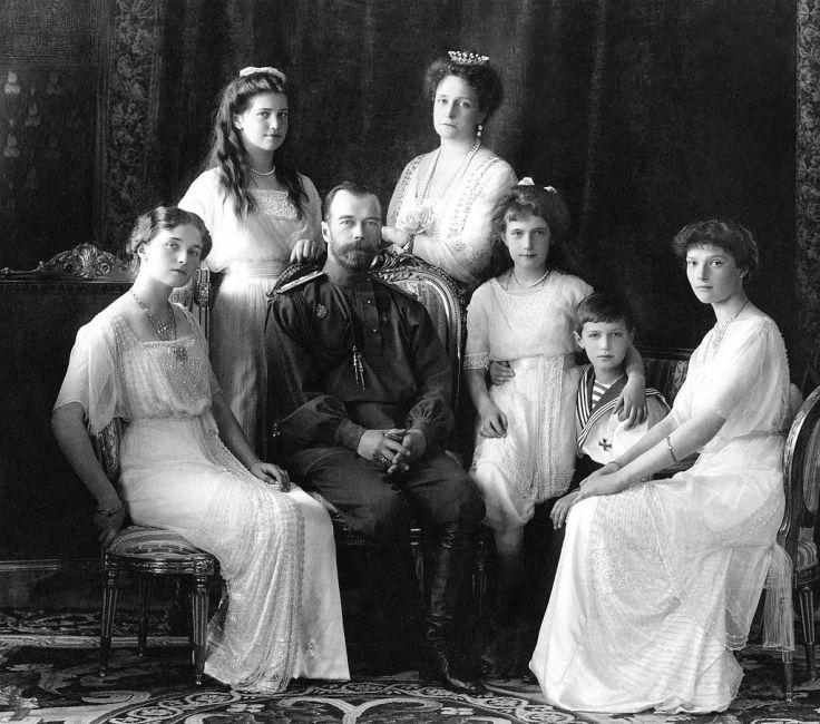Familia imperial rusa, 1911