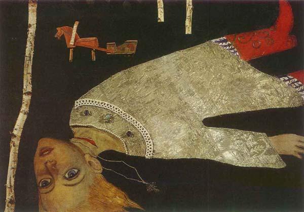 """La leyenda del príncipe Dmitri"" (1967), de Ilyá Glazunov"