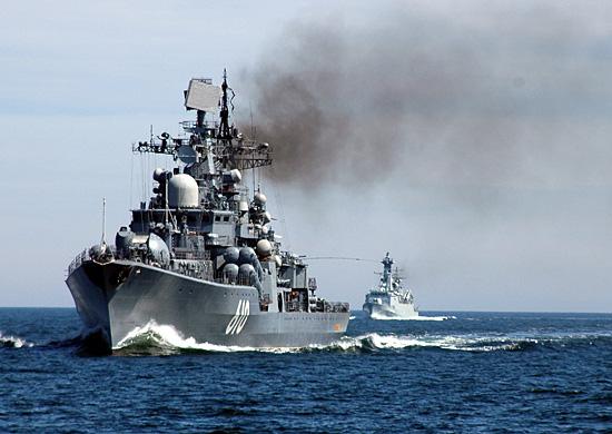 """Destructor """"Nastoichivy"""", perteneciente a la Flota Báltica"""